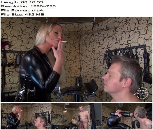 KinkyMistresses – Calea's Dirty Slave – Calea Toxic – Boot Worship - Female Domination, Smoke