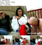 The Mean Girls – Goddess Platinum, Goddess Tina – Loser, its Cold Outside- Smoking Edition (1080 HD) – Human Ashtray - Degradation, Female Domination