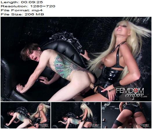 Vicious Femdom Empire – Begging for a Pegging! – Rikki Six – Strapon - Anal, Anal Fucking
