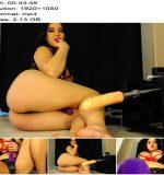 Crystal Knight – Sissy Sex Machine Training – 45 Min Anal Masturbation Fuck Machine - Female Supremacy, Sissy Training