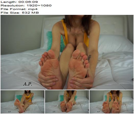 Miss Alexa Pearl – Make You Cum JOI Foot Worship - Femdom, Footlicking