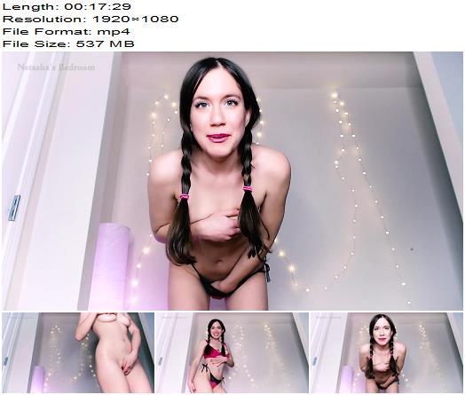 Natashas Bedroom – Making You My Bitch - Masturbation Instruction, Human Pet