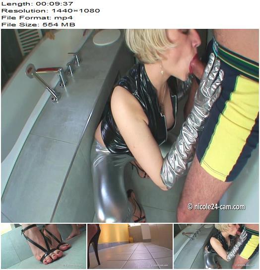 Nicole Feet Lady 24 – Shoejob – Cum on my Feet! - High Heels, Shoesjob