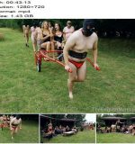 The English Mansion – High Protocol Gala Pt2 – Racing and Whipping (Complete Movie) - Humiliation, TheEnglishMansion