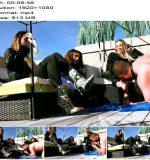 The Mean Girls – Goddess Platinum, Princess Skylar, Princess Carmela – Good Pain Slaves Get To Worship Feet (1080 HD) – Foot Worship - MiamiMeanGirls, Footworship