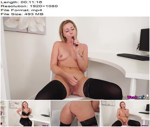 WankItNow – Lucy Lauren – Masturbation Seminar - Jerk Off Encouragement, Erect Nipples