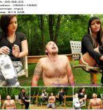 Brat Princess 2 – Mariah and Natalya – Coffee and Cigarettes with Human Ashtray  - Brat Girls, Femdom