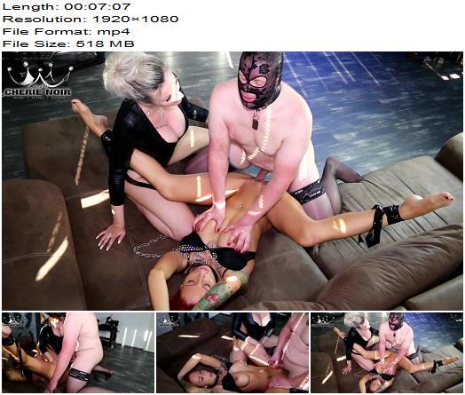 Cherie Noir – Hard And Uncut – Slave Of Slaves 2 – Wow! Blowjob, Fucking, Cumshot (1080 HD) – Cum Eating - Cum Swallowing, Femdom
