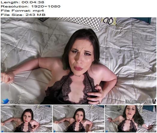 Goddess Femdom – Homemade cheater - Female Domination, POV