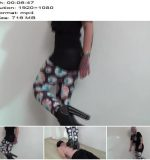 Lucy hard trampling in extreme shoes – Boot Domination - Boots, Throat Standing