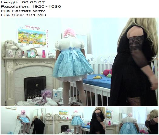 PlasticMommy – Fun With Nanny Hunny Part 3 – Adult Diapers - Female Domination, Age Regression