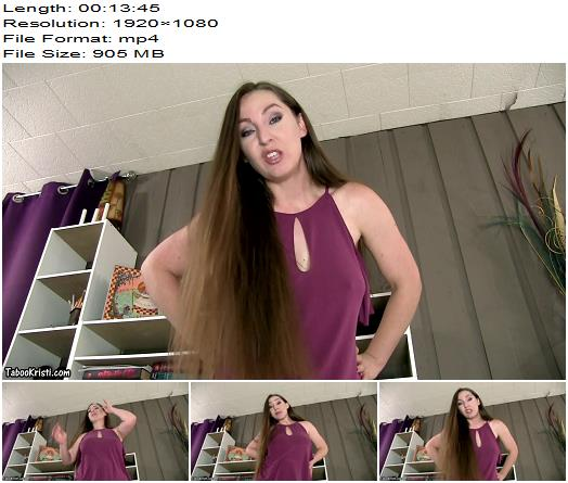 Princess Kristi - Your Punishment Is Cleaning Mommys Ass - Asshole Fetish, Dirty Talk