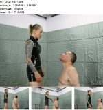 Cruel Punishments – Severe Femdom – Red marks on his face – Mistress Anette – Face Slapping - Faceslap, Degradation