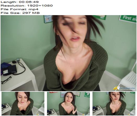 DownBlouse Jerk – Do you have a big cock doc – Teasing - Femdom, Busty