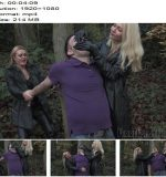 Femme Fatale Films – Being Evil – Complete Film -  Mistress Athena and Mistress Eleise de Lacy  - Double Domme, Leather Gloves