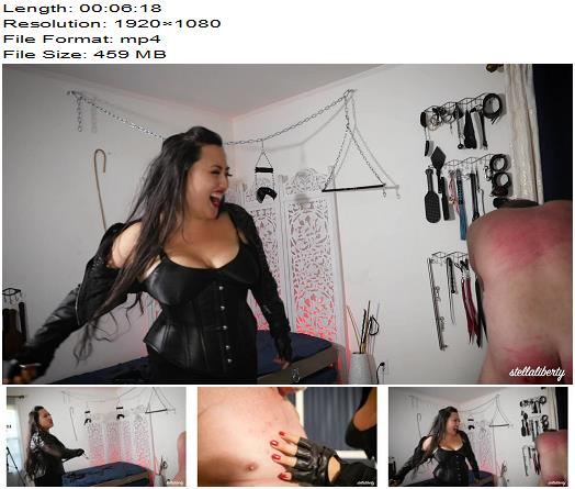 Stella Liberty – Take The Pain For Me With Empress Jazmin Wu  - Bdsm, Domme