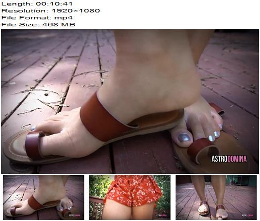 AstroDomina – FOOT PUPPY – Footworship - Dirty Feet, Astro Domina