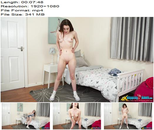 BoppingBabes – A little treat – Instructions - Nude, Shaven Pussy