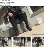 Chateau-Cuir – Clean My leather chap boots Boot Worship - POV Boot Worship, Fetish Liza