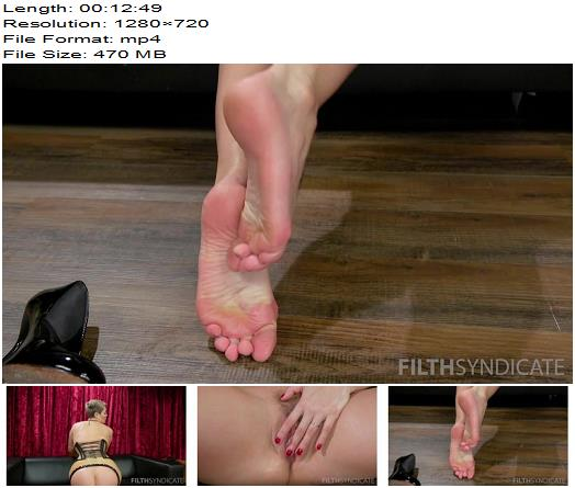 FILTH SYNDICATE – KINKY JOI – Ryan Keely's Feet, Tits and Ass - Jerk Off Encouragement, Rubber