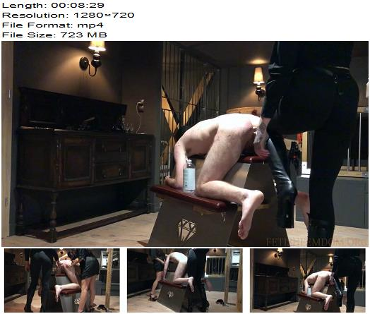 Miss Melisande Sin – Bratty strap on virign getting fucked by two Mistresses  - Double Domination, Dildo Fucking