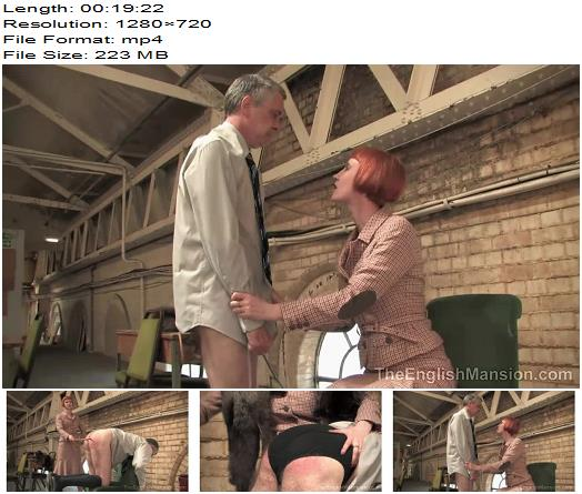 The English Mansion – A Study in Onanism – Complete Movie -  Domina Liza - Tawse, Stockings