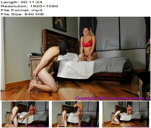Brat Princess 2 – Becky – Released from Chastity for an Edging Game – Humiliation - Goddess Becky, Locked Dick