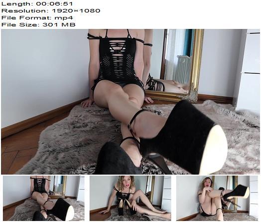 Miss Hanna – The Cruel Denial of a Loser Heel Addict – Orgasm Control - Orgasm Denial, FemDom Goddess