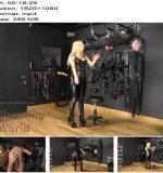 BallbustingWorld – Sadistic Suspended Ballbusting – Nikki Whiplash – CBT - Female Domination, Balls Busting