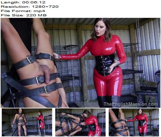 The English Mansion – Divine Bitch – Part 4 – Maitresse Madeline – Hot Femdom - Whipping, Latex