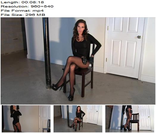 Ashley Sinclair - Mistress Ashley in Pantyhose - Instructions - Tease And Denial, Locked Dick