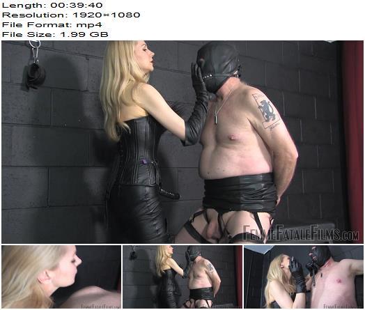 Femme Fatale Films – Leather Slave – Super HD – Complete Film -  Mistress Eleise de Lacy - Dungeon, Leather Thigh Boots