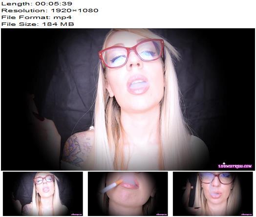 LDB Mistress - Blonde Smoking Princess! - Mesmerize - Sexy, Hypnosis