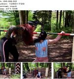Mistress Lady Renee – Femdom Territory Interrogation (720 HD) – Face Slapping - Outdoors, Female Domination