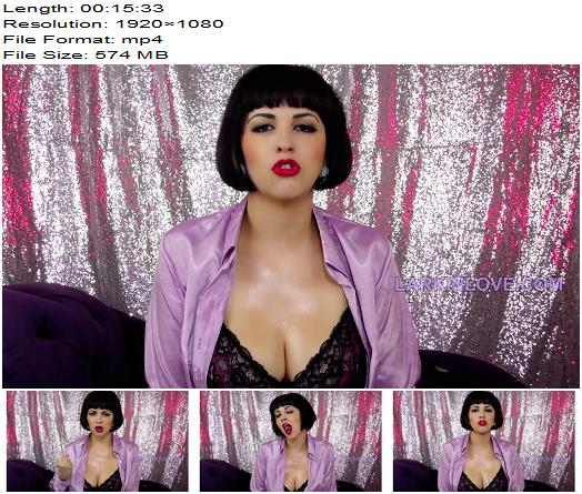Princess Larkin Love - Taboo Oral Femdom Pay For Moms Mouth - Instructions - JOI, Jerk Off Instruction