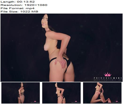 Princess Miki - First Hands Free Orgasm - Jerk Off Instruction, Goddess Worship