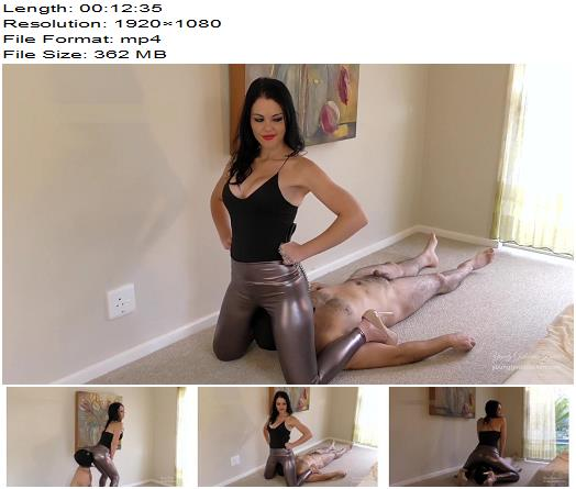 Young Goddess Kim - The Shining Smother (1080 HD) - Face Sitting - Facesit, Female Domination