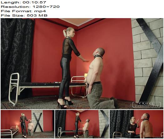 Cruel Punishments - Severe Femdom - Eat the cigarette - Mistress Anette - Face Slapping - Smoking, Female Domination