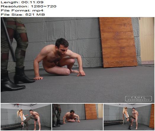 Cruel Punishments - Severe Femdom - Evaluation and punishment part 3 - Mistress Zita - Ballbusting - Blonde, Blond Hair