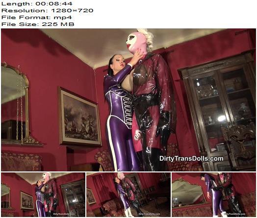 Dirty Trans Dolls – Rubber doll chastity tease -  Fetish Liza  - Femdom, Tease & Denial