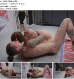 Evolved Fights – Competitive Sex Fight With Winner Thigh Fucking Loser -  Bella Rossi  - Blowjob, Femdom