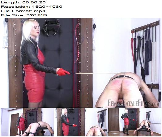 Femme Fatale Films - The Curse Of The Cane - Part 4 - Divine Mistress Heather - Caning - FFF, Canning