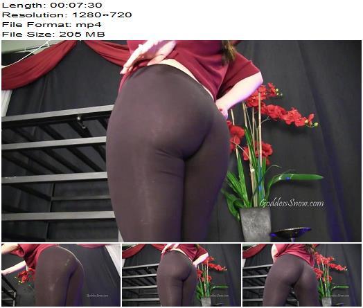 Goddess Alexandra Snow - Ass Jiggle - Assworship - Asslicking, Ass Shaking