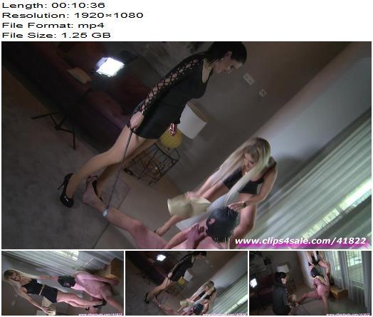 Goddess Chanel HD clips – balls will suffer  - High Heels, Ballbusting