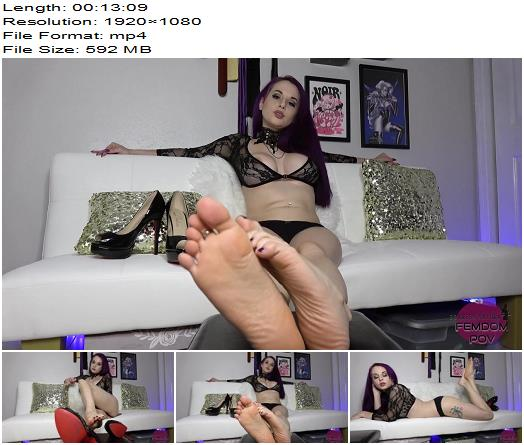 Goddess Valora - Can You Hold Back? - Foot Edging Challenge - Instructions - Slow Motion, Female Domination