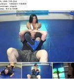 Hazel Vs Dante - Pro Style Wrestling - Hot Femdom - Mixed Wrestling, Female Domination