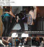 Miss Melisande Sin – Sodomized by The Sin Sisters (Melisande Sin & Maya Sin)  - Rubber Fetish, Pegging
