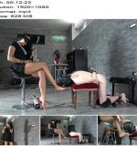Mistress Gaia - Foot Gagging Ass Fuck (1080 HD) - Foot Worship - Female Domination, Ass Spreading