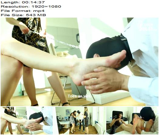 Czech Soles - Office Foot Slave For Two Sexy Colleagues (1080 HD) - Dita, Daniela - Foot Worship - Foot Domination, Footdom