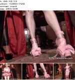 Dirty Trans Dolls – Prissy sissy inspection -  Fetish Liza and Rubber Doll Jenna  - Femdom, Double Domination
